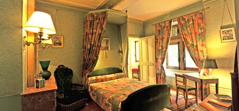 Chambre verte chambre milie comtesse de la fayette for Chambre chateau